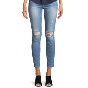 Frame Denim Distressed Skinny Jean